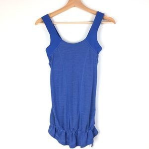 LULULEMON Run For Your Life tank top 4 blue t518